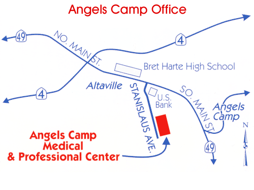 Donaldson Eye Care Angels Camp Office