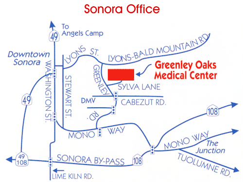 Donaldson Eye Care Sonora CA Office